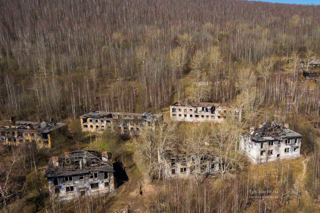 Города-призраки России: мертвые деревни