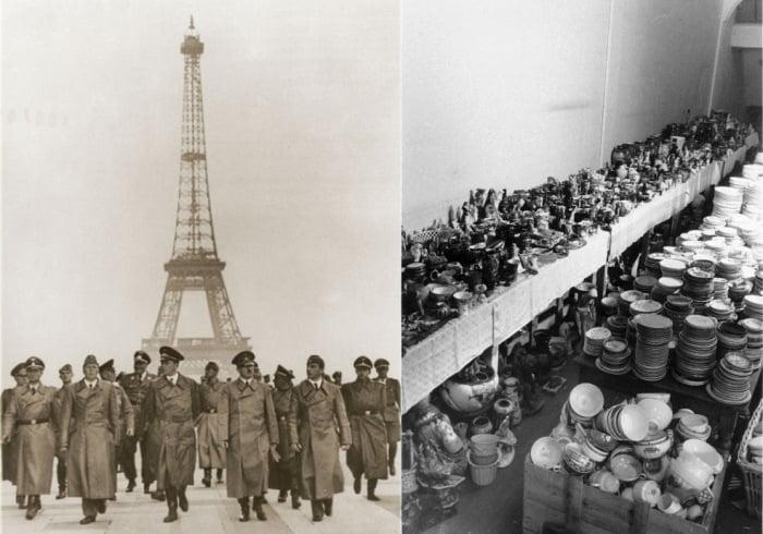 paris occupation 4 Как продавали отобранные у евреев вещи и другие шокирующие факты времен нацистской оккупации Франции