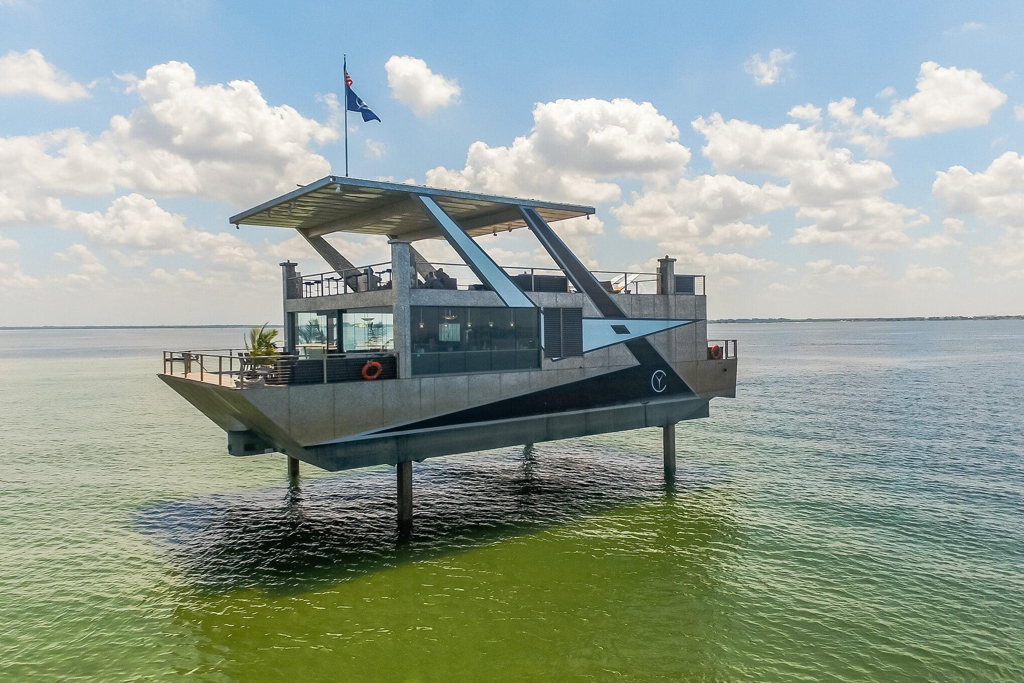 яхта особняк из стали
