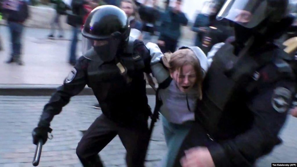 Москва побила рекорд по числу задержаний и арестов в 2019 году