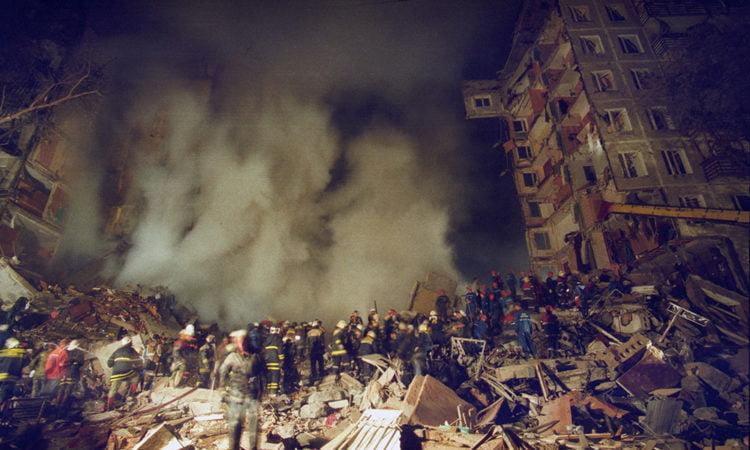 взрывы домов