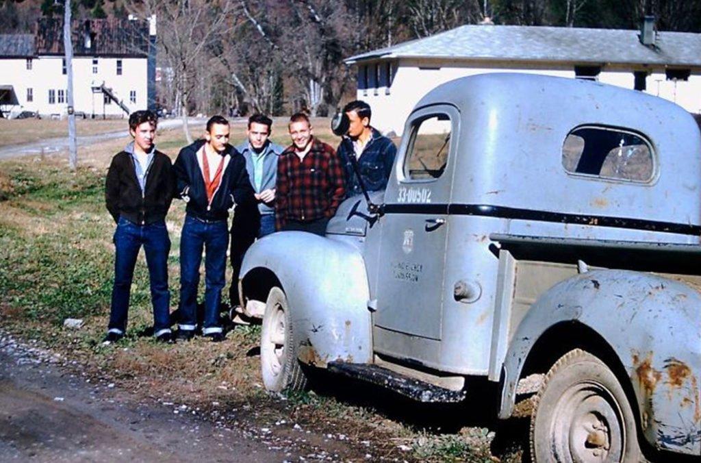 boys Настоящая жизнь в США 1950-х годов