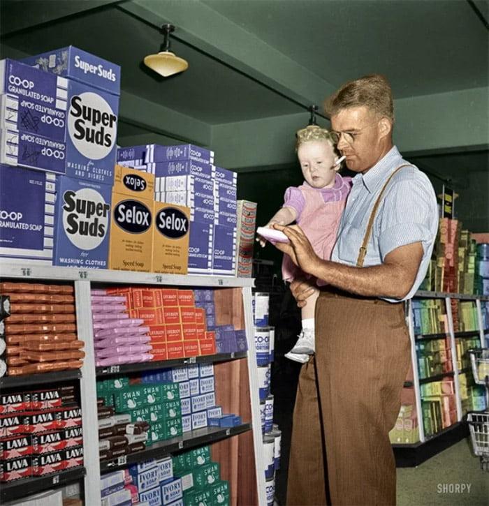 father Настоящая жизнь в США 1950-х годов