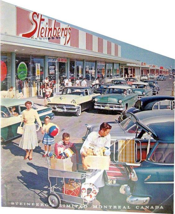 market Настоящая жизнь в США 1950-х годов