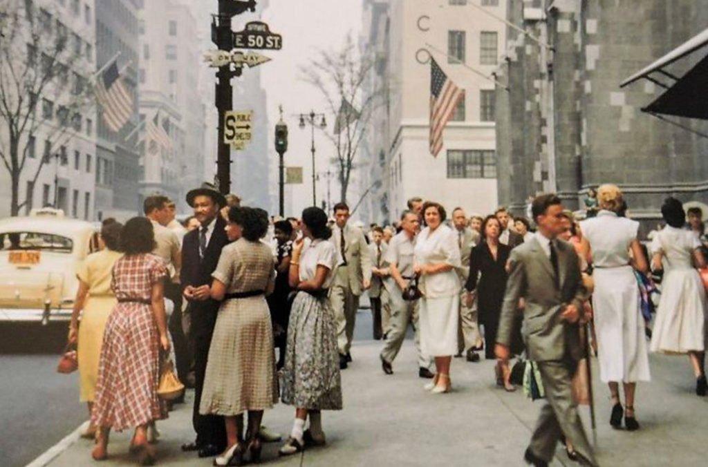 pyples Настоящая жизнь в США 1950-х годов