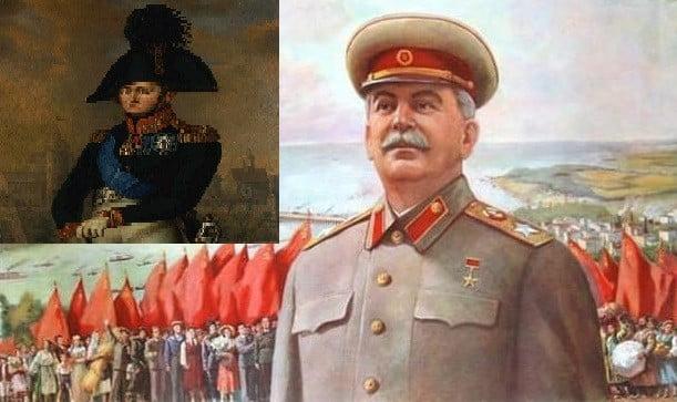 Сталин и Наполеон