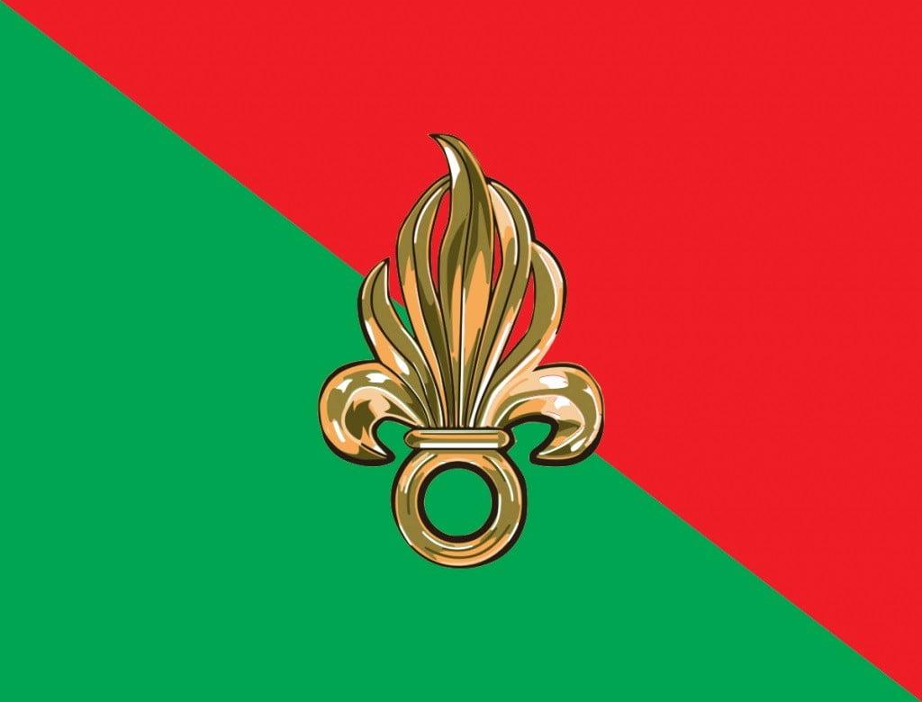 flag i simvol legiona Имя им — Иностранный легион: правда и вымыслы про Légion étrangère