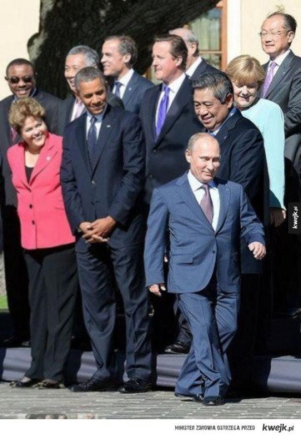 Путин и мировые лидеры