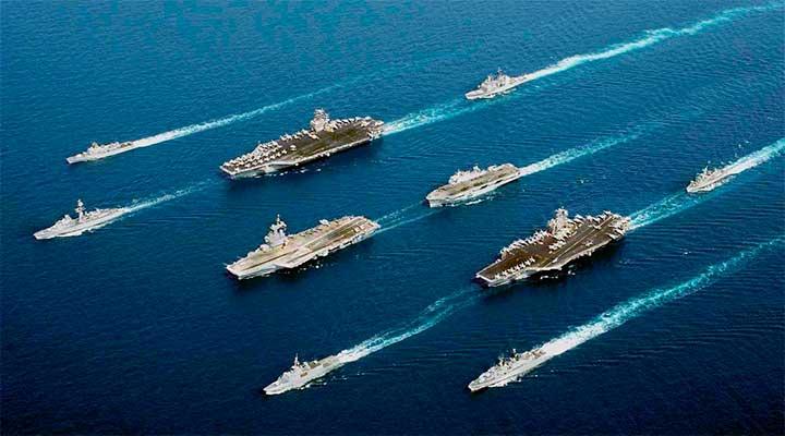 Крупнейшие учения ВМС США