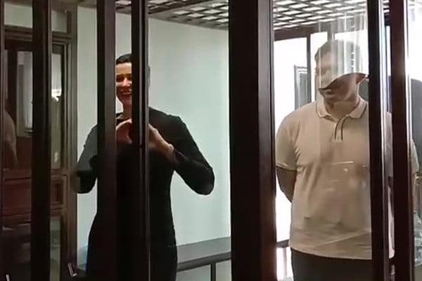 В Минске начали судить Марию Колесникову и Максима Знака