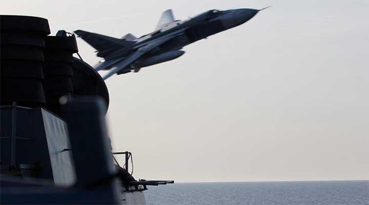 огонь на поражение по российским самолётам