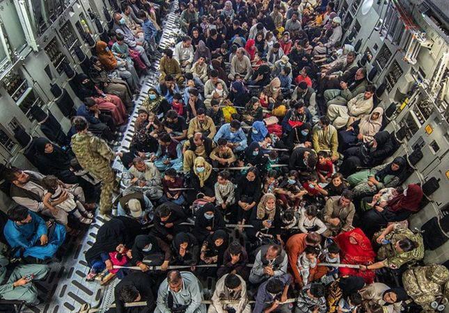 беженцы из Афганистана