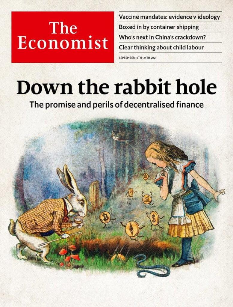 Новая обложка The Economist объявила скорое начало глобального кризиса