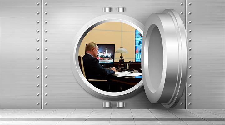Путин спрятался в бункере. От кого?